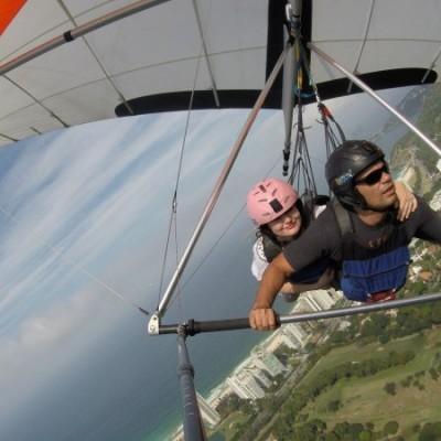 Voo de asa delta com a Best Fly Rio