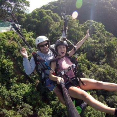 Voo de parapente equipe Best Fly Rio Voo Livre