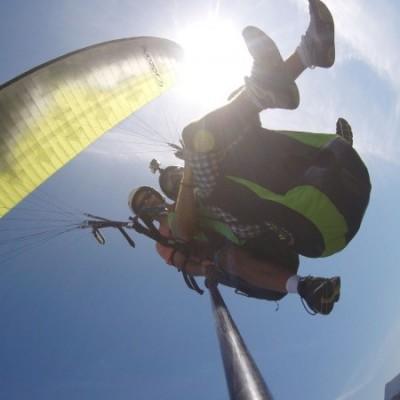Voo de parapente com a Best Fly Rio